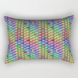 Gluons Rectangular Pillow