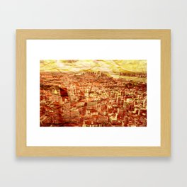 NYC Texture Framed Art Print