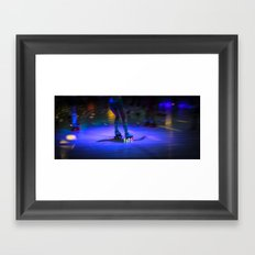 Roller Disco Framed Art Print
