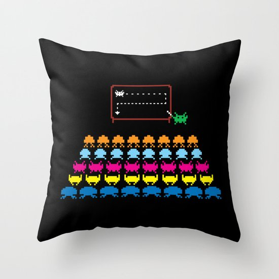A Simple Plan Throw Pillow