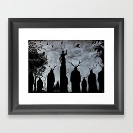 The Cult Framed Art Print