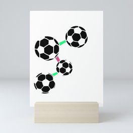 Soccer is in My DNA Soccer Lover Mini Art Print