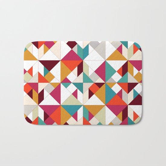 tangram geo Bath Mat