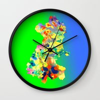 dublin Wall Clocks featuring Dublin Water by Kramcox