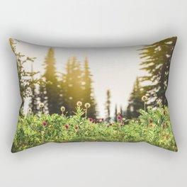 Mountain Meadow Flowers - 13/365 Rectangular Pillow