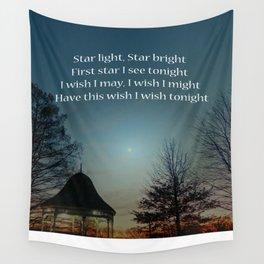 Star Light Star Bright Wall Tapestry