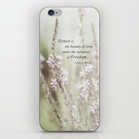 The Beauty of Form iPhone & iPod Skin