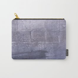 Dark blue gray Carry-All Pouch