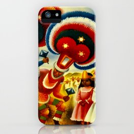 Oaxaca Mexico Vintage Travel iPhone Case