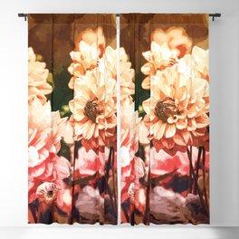 Eden Garden #floral #watercolor Blackout Curtain