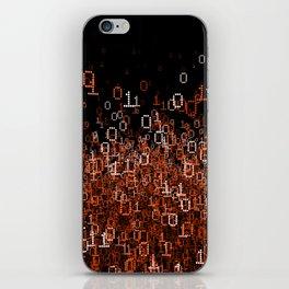 Binary Cloud II iPhone Skin
