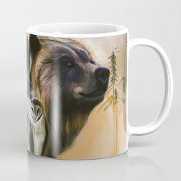 Wolf, Bear, Owl Spirit Animals Coffee Mug