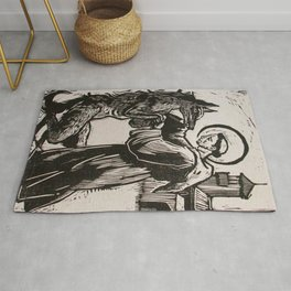 Compassion for a werewolf Rug