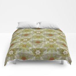 Vintage English Garden Pattern Comforters