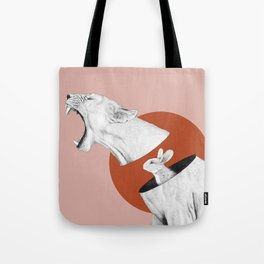 Lioness Bunny Tote Bag