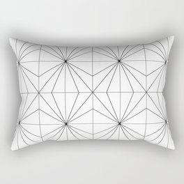 Crystal Pattern Rectangular Pillow