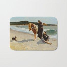 High Tide, Winslow Homer, 1870 Bath Mat