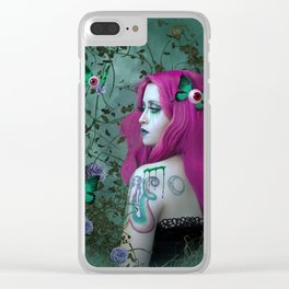 Amaranta - Stacy 16 Clear iPhone Case