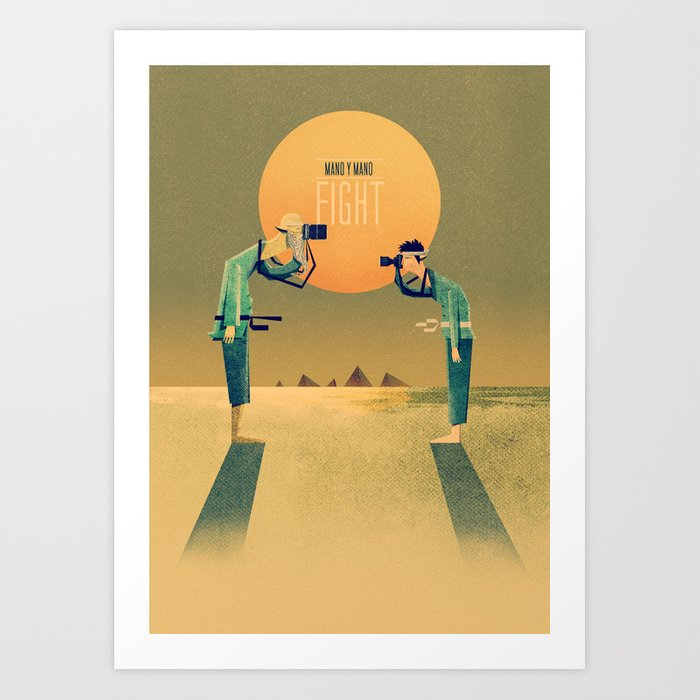 1 on 1 Poster Print Art Print