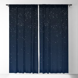 Stars in Space Blackout Curtain