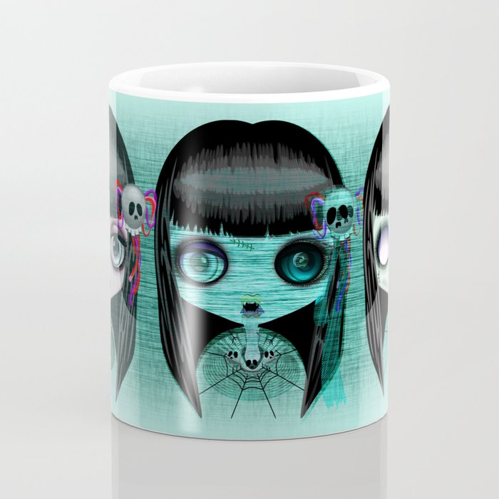 Zombie Doll The Dark Side Coffee Mug