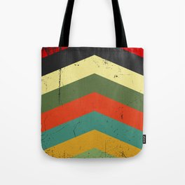Grunge chevron Tote Bag