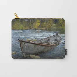 Canoe on the Thornapple River in Autumn Carry-All Pouch