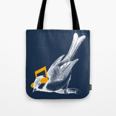 Listening to your heart Tote Bag