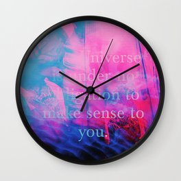 Sex Magic & VHS Lines Wall Clock