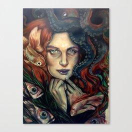 Mermaid Tears Canvas Print
