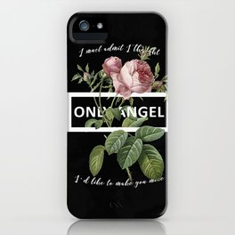 Harry Styles Only Angel graphic artwork iPhone Case