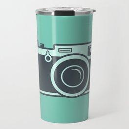 Camera Illustration Travel Mug