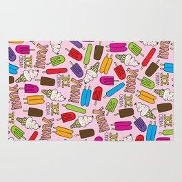 Ice Cream Doodles Rug