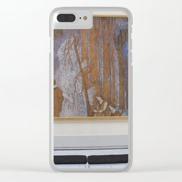 Old Masters Museum-Belgium Clear iPhone Case