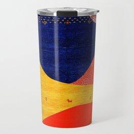 N88 - Collage Art, Boho Morocco by Arteresting Travel Mug
