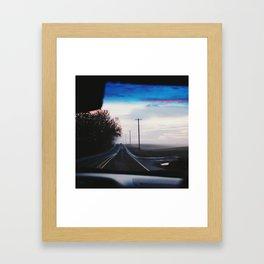 Oregon Backroads Framed Art Print