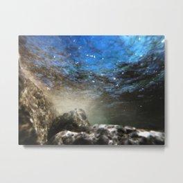 Aqua 6 Metal Print