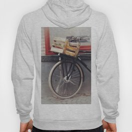 Bicycle, Wood Crate Hoody