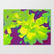 Eccentric Flowers Canvas Print