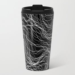 White Veins Travel Mug
