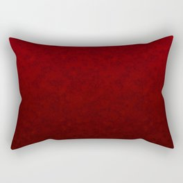 Red marble Rectangular Pillow