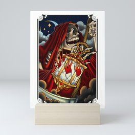 Night crawler Mini Art Print
