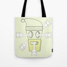 snowy santa  Tote Bag