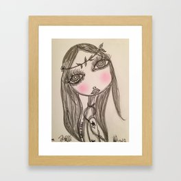 Black & White Framed Art Print