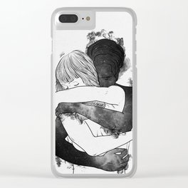 I would keep you forever. Clear iPhone Case