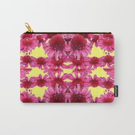 STRAWBERRY ECHINACEA FLOWERS GARDEN DESIGN Carry-All Pouch