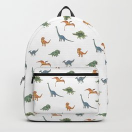 Dino Pals (White) Backpack