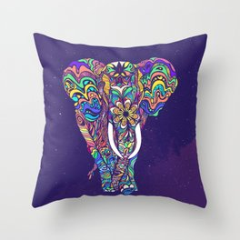 Not a circus elephant Throw Pillow