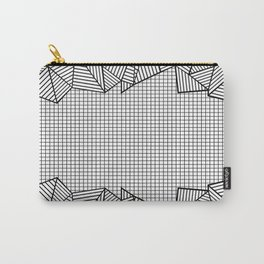 Grids and Stripes Carry-All Pouch