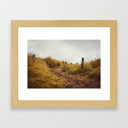 Take the Line Framed Art Print